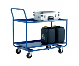 Trolley with 2 Steel Shelves