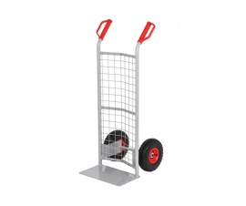 Sack Truck With a Mesh Back