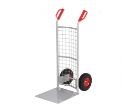 Sack Truck With a Mesh Back and Large Toe Plate