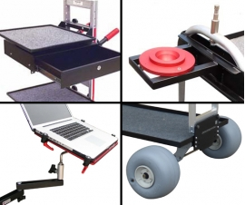 Accessories and Attachments for Magliner Filming Carts
