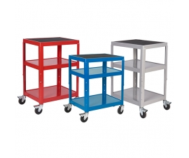Steel Height Adjustable Trolley