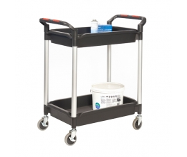 Trolley with 2 Deep Trays