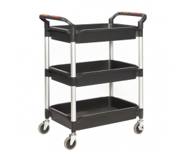 Trolley with 3 Deep Trays