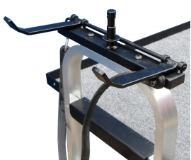Holders for Magliner Film and TV Carts