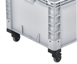 Plastic Storage Boxes with Wheels