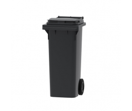Dark Grey Wheelie Bin