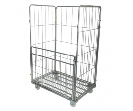 Large Pallet Sized Roll Container Cage