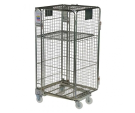 4 Sided Nestable Security Roll Cage