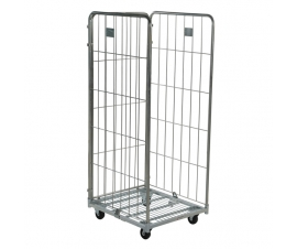 3 Sided Roll Cage Container