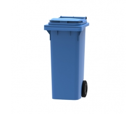 80 litre wheelie bin in blue