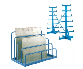 Bar and Sheet Storage Racks and Units