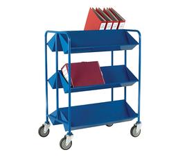 Book Trolley in Blue