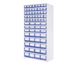 Shelf Trays and Delta Plus Steel Shelving Range