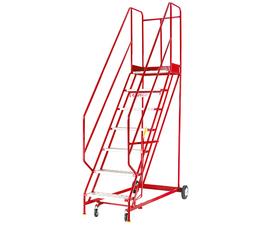Steptek Warehouse Steps in Red