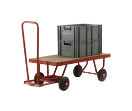 Turntable Trailer With MDF Deck