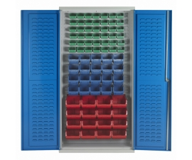 Bin Cabinet With 78 Picking Bins