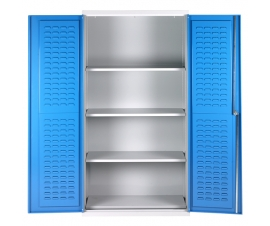 Bin Cabinet With 4 Shelves