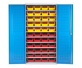 Bin Cabinet With 44 Picking Bins