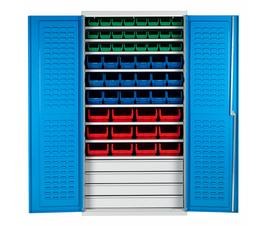 Bin Cabinet With 54 Picking Bins