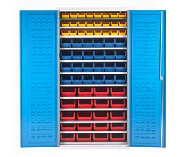 Bin Cabinet With 68 Picking Bins