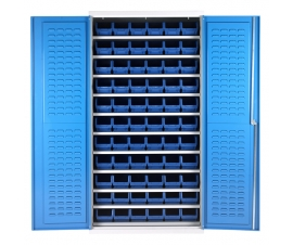Bin Cabinet With 66 Picking Bins