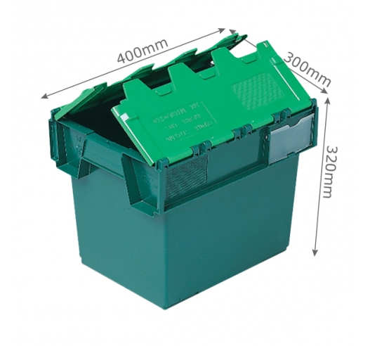 10025 25 Litre Containers with Attached Lids