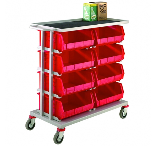 8 Container Distribution Trolley