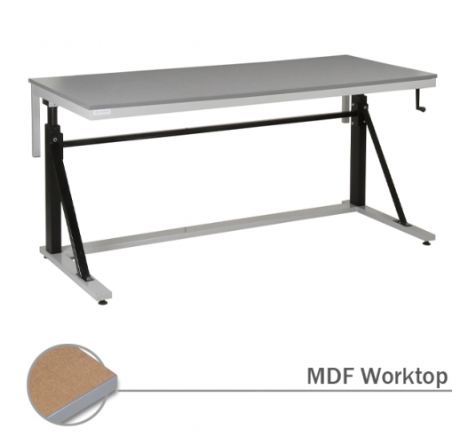 Adjustable Cantilever Workbench with MDF Worktop