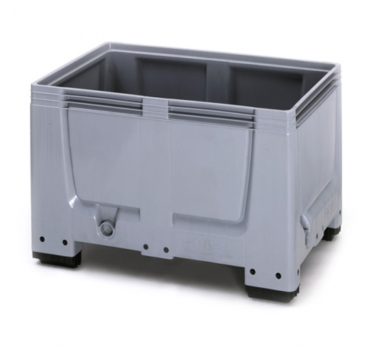 1200mm x 800mm Plastic Euro Pallet Box with Feet