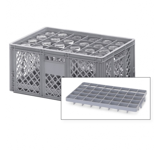 Bottle Crate - Divider Tops for Euro Container