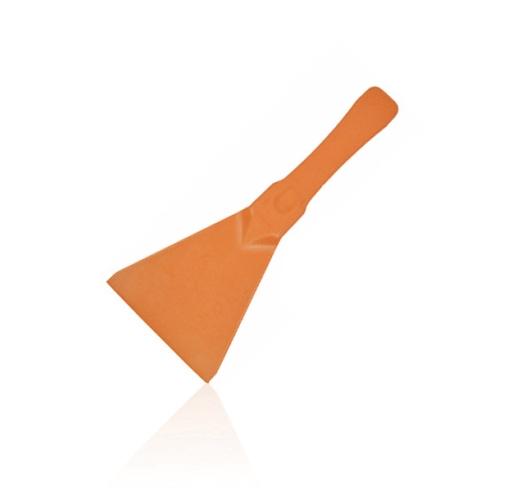 Ref: H-11 Plastic hand spatula - scraper for ingredients