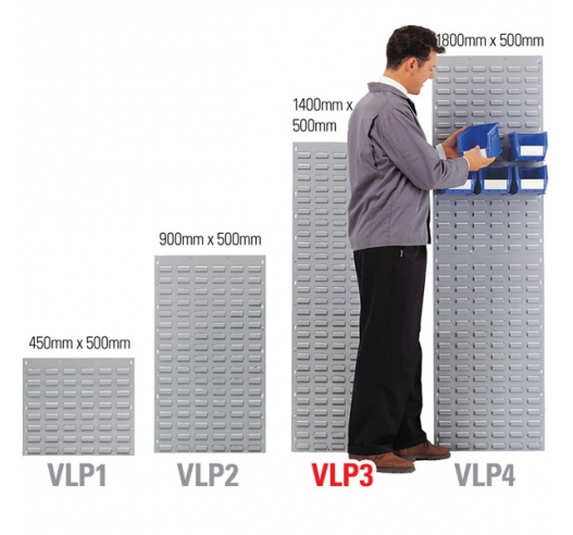 VLP3 Louvre Panel for Mounting Linbins