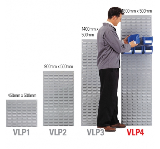 VLP4GR Wall-Mounted Louvre Panels