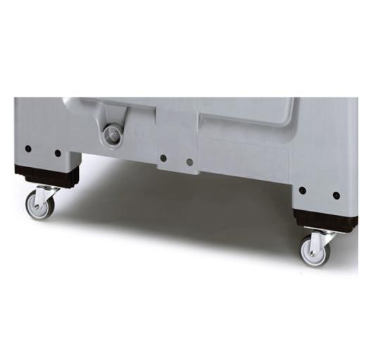 Castors for economy range pallet box