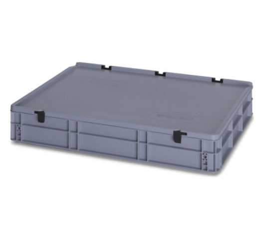 45 Litre Plastic Container with Lid (Euro/Stacking) ED86-12HG