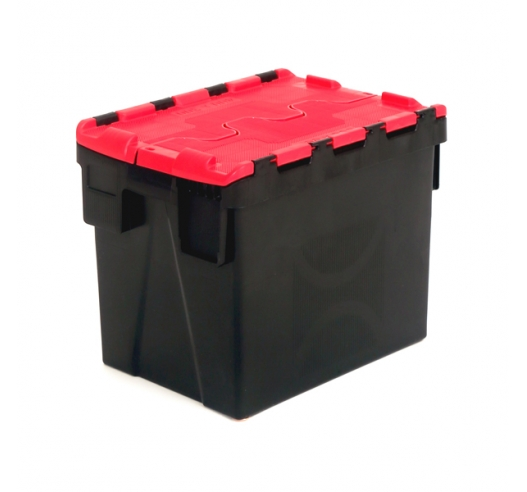 Plastic Medium Sized Plastic Crate with 24 Litre Capacity