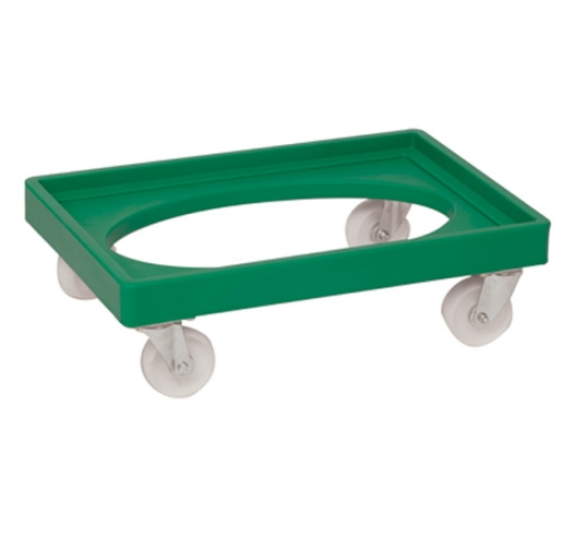Green Euro Container Dolly