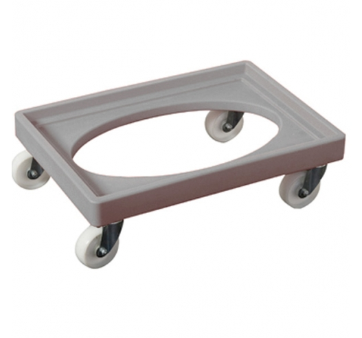 Grey Euro Container Dolly