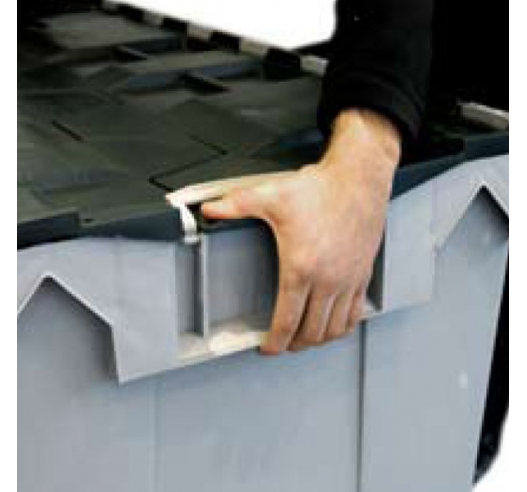 Carry handles present on HogBoxes
