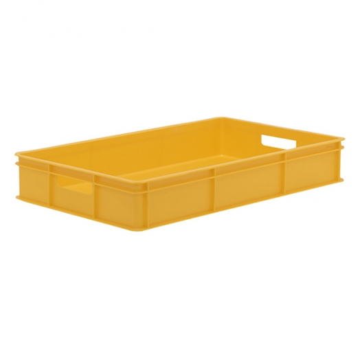 Yellow Stacking Confectionery Tray solid sides and base