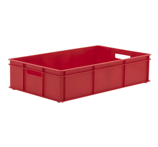 Red Stacking Confectionery Tray Solid sides and base