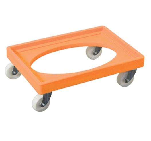 Orange Euro Container Dolly