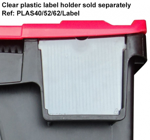 Plastor label holder