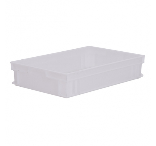 Solid White plastic Euro Trays