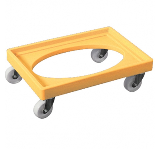 Yellow Euro Container Dolly