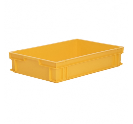 Large Yellow plastic trays (euro standard) M200A