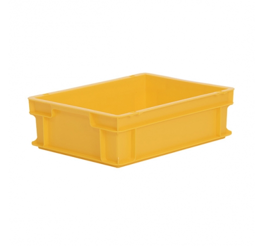 Yellow Euro Stacking Containers