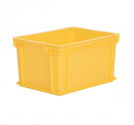 Storage box for all applications - yellow
