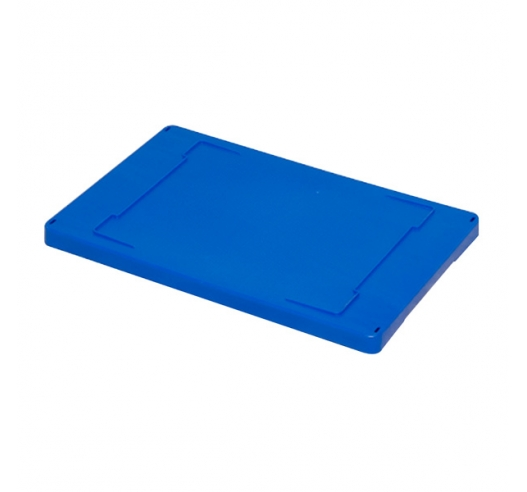 Blue Drop On Lid for Storage Boxes