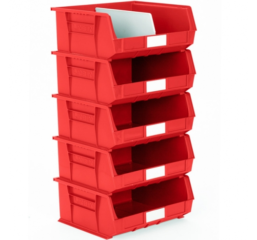 Red 8 Size Linbins